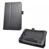 LG G Pad 8.0 V480, bőrtok, mappa tok, fekete