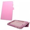 LG G Pad 8.0 V480, bőrtok, mappa tok, rózsaszín