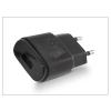 LG gyári USB hálózati töltő adapter - 5V/1,8A - MCS-04ER black (csomagolás nélküli)