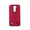 LG K10, Műanyag hátlap védőtok, közepesen ütésálló, Beeyo Synergy, rózsaszín