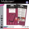 LG K4, Kijelzővédő fólia (az íves részre NEM hajlik rá!), MyScreen Protector, Clear Prémium