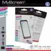 LG L Bello D331/D335, Kijelzővédő fólia, MyScreen Protector, Clear Prémium / Matt, ujjlenyomatmentes, 2 db / csomag