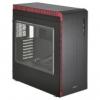 Lian Li PC-J60WRX Midi-Tower - Black/Red Window