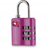 Lifeventure Számzáras lakat Lifeventure TSA Combi Lock Szín: rózsaszín