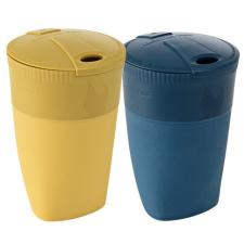 Light My Fire Pack-up-Cup BIO 2-pack kék/sárga kemping felszerelés