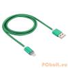 Lightning Lightning - USB2.0 kábel LED-es állapotjelzéssel 1.0m, zöld