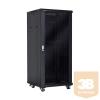 Linkbasic álló rack szekrény 19'' 42U 600x600mm fekete