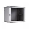 "Linkbasic Fali szekrény 19"" 9U 600x600mm szürke"