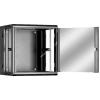 """Linkbasic kétrészes fali szekrény 19"""" 15U 600x550mm fekete"""