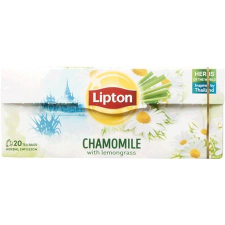 LIPTON Herba tea, 20x1 g, LIPTON, kamilla-indiai citromfű tea
