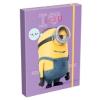Lizzy Card füzetbox A5 - MINIONS - MINYONOK - PURPLE