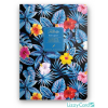 Lizzy Card Kft. Lizzy Card Florette Notebook A5 2019 Blue Lagoon 18618699