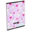 Lizzy Card Lollipop: unikornisos sima füzet - A5, 20-32