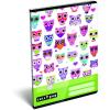 LizzyCard Füzet tűzött A/5 kockás Lollipop Light Owl 17302123
