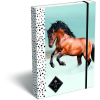 LizzyCard Füzetbox A/5 Geo Horse Snow 18268210