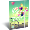 LizzyCard Gumis mappa A/4 Good Vibes Balloon 18567801