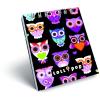 LizzyCard Notesz spirál kicsi A/7 Lollipop Dark Owl 17338222