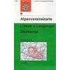 Loferer und Leoganger Steinberge turistatérkép - Alpenvereinskarte 9