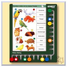 - LOGICO Piccolo keret logikai játék