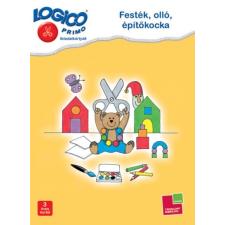 Logico Primo - Festék, olló, építőkocka puzzle, kirakós