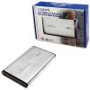 """LogiLink 2.5""""-os USB 2.0-ás hordozható IDE merevlemez ház - Ezüst"""