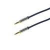 LogiLink Audio Cable 3.5 Stereo M/M, straight, 5.00 m, blue