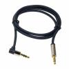 LogiLink audió kábel 3.5 sztereó, apa/apa, 90° hajlított, 0.50 m, kék