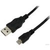 LogiLink CU0060 USB 2.0 A-B microUSB adatkábel - 5m - fekete