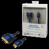 LogiLink HDMI-DVI kábel; HQ; 1 m