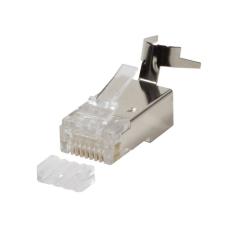 LogiLink Modular Plug Cat.6A RJ45 for Cat7,Cat.6A, Cat.6 cable, 10pcs. set, shielded egyéb hálózati eszköz