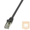 LogiLink patch kábel, Cat.6 F/UTP EconLine 2m fekete