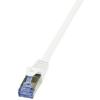 LogiLink - Patch kábel Cat.6A 10G S/FTP PIMF PrimeLine 30m fehér