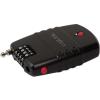 LogiLink SC0212 Universal 4 digits combination lock with alarm fekete
