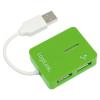 LogiLink Smile UA0138 Zöld USB HUB