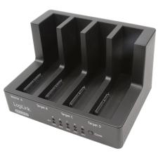 LogiLink USB3.0 & eSATA 4 férőhelyes dokkoló, klónozással asztali számítógép kellék