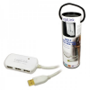 LogiLink USB 2.0-ás aktív hosszabbító, 4 portos hub, 12m