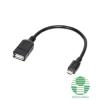 LogiLink USB micro OTG kábel - 0,2m AA0035 (AA0035)