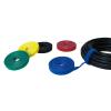 LogiLink vágható tépőzáras kábelkötegelő, 4m x 16mm - kék