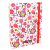 Lollipop baglyos A5-ös irattartó mappa - fehér-piros
