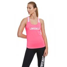 Lonsdale neon pink sportosan elegáns sport fitness trikó