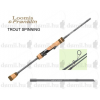 Loomis and Franklin TROUT SPINING - IM7 TS702SMLF, PERGETŐ BOT