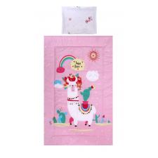 Lorelli 3 részes ágyneműgarnitúra - Happy Lama babaágynemű, babapléd