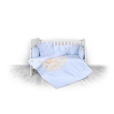 Lorelli 5 részes ágyneműgarnitúra - Bear Party blue babaágynemű, babapléd