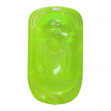 Lorelli anatómiai kád + állvány - Zöld kád, zuhanykabin