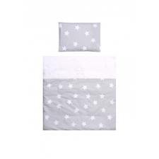 Lorelli Eva bölcsőhöz ágyneműgarnitúra - Gray Stars lakástextília