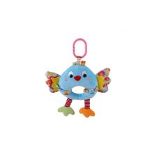 Lorelli Toys zenélő plüss játék - kék madár plüssfigura