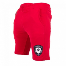 LOS ANGELES SWEAT SHORT (RED) [XXXL]
