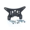 LRP Electronic Hátsó CARBON lengéscsillapító agancs/tartó 4mm – S10 Blast BX/TX/MT/SC