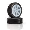 LRP Electronic VTEC Groove 2WD přední nalepené gumy - 1/10 Buggy J-směs