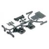 LRP Electronic Zadní domek převodovky a držák zadních ramen - S10 Twister - 1/10 2WD Buggy